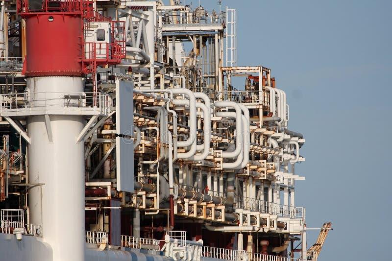 корабль завода масла стоковое фото rf