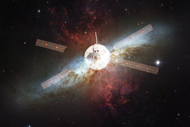 Корабль запустит в космос E стоковое изображение rf