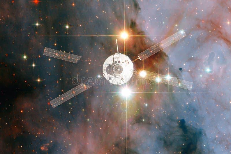Корабль запустит в космос E стоковые фото