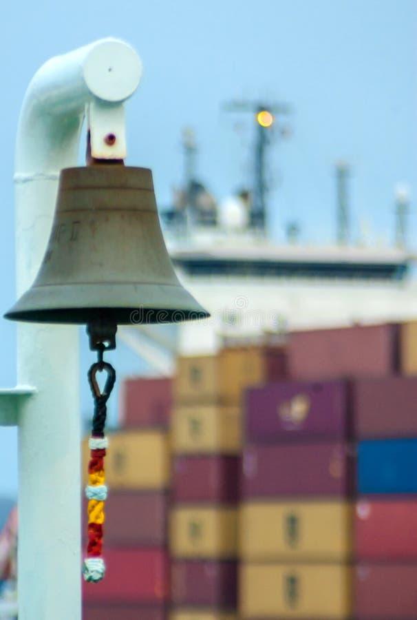 Корабль колокол стоковые фотографии rf