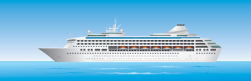 корабль океана круиза иллюстрация штока