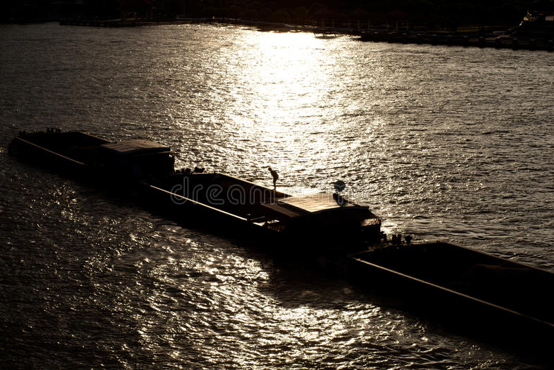 Корабль смешанного груза стоковое фото rf