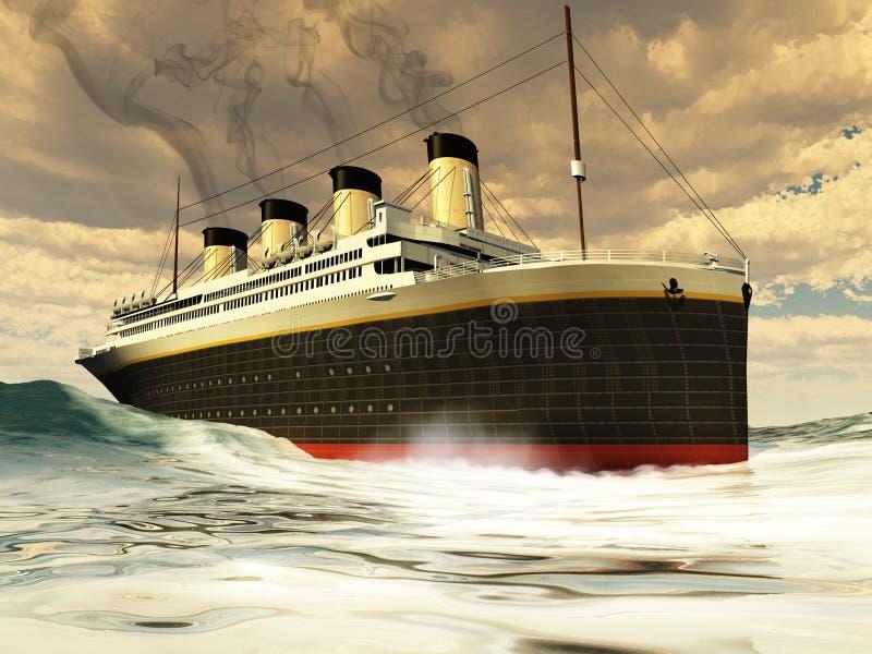 корабль титанический