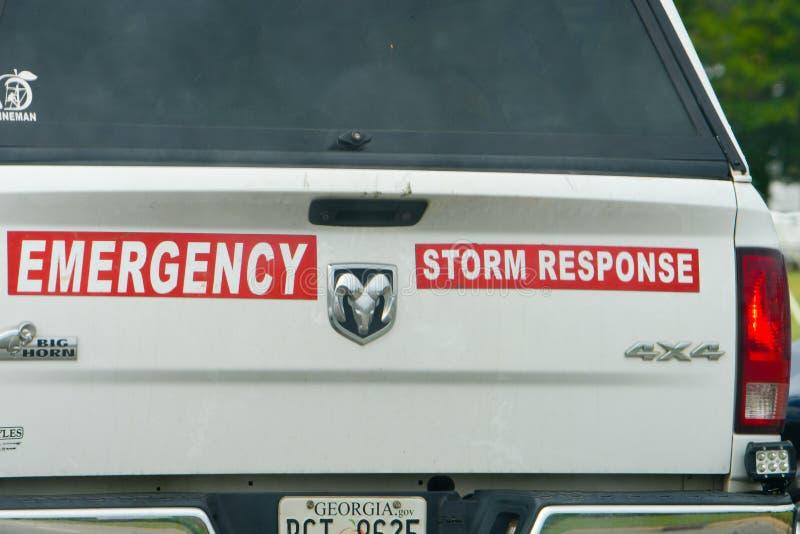 Корабль чрезвычайной помощи в Уилсоне, NC стоковые изображения