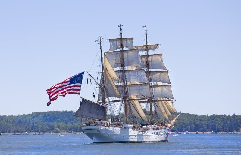 корабль 2009 Nova Scotia празднества орла высокорослый стоковая фотография