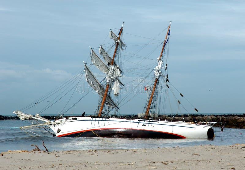 корабль abandon 2 стоковое фото rf