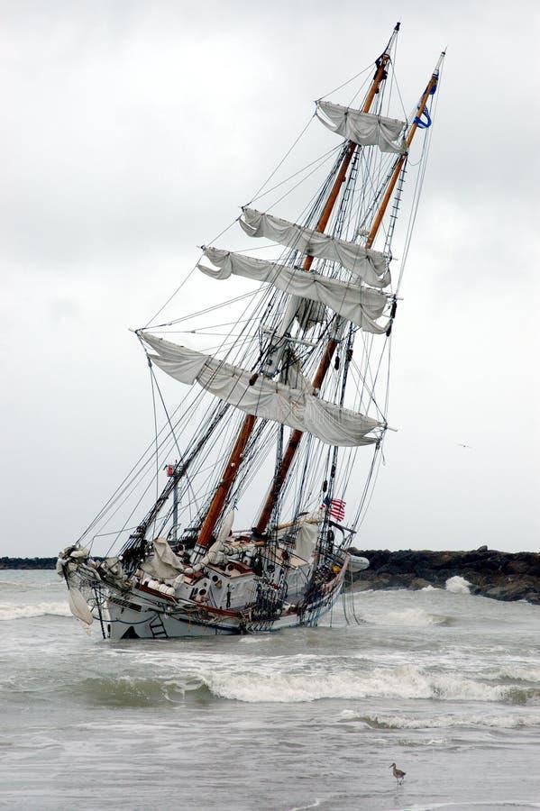 корабль Abandon Стоковая Фотография