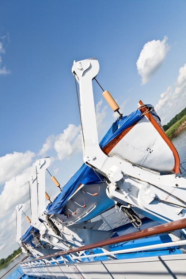 корабль lifeboat стоковые фотографии rf