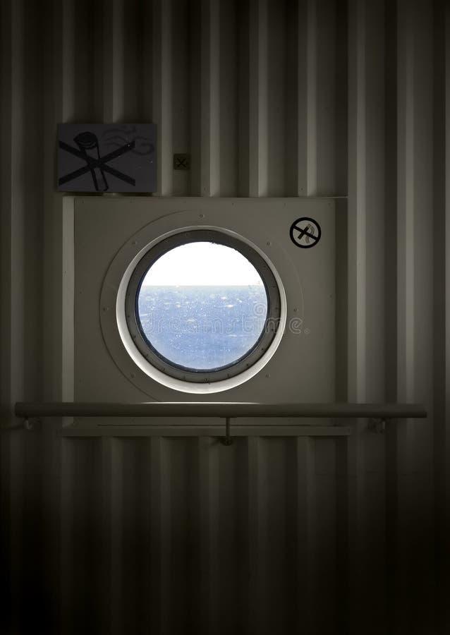 корабль porthole стоковое фото rf