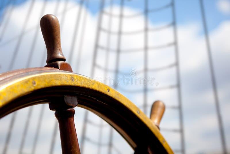 корабль rudder стоковые фото