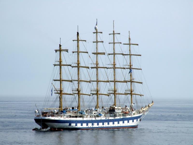 корабль sailing стоковое изображение