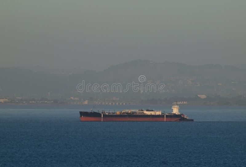 корабль san остальных francisco груза залива стоковые изображения rf