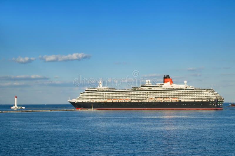корабль victoria ферзя круиза стоковое фото