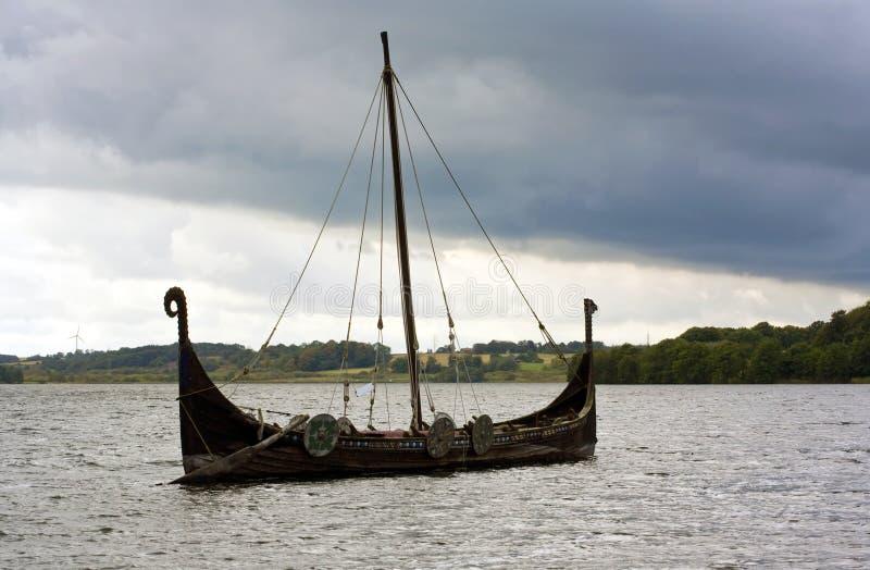 корабль viking стоковое изображение