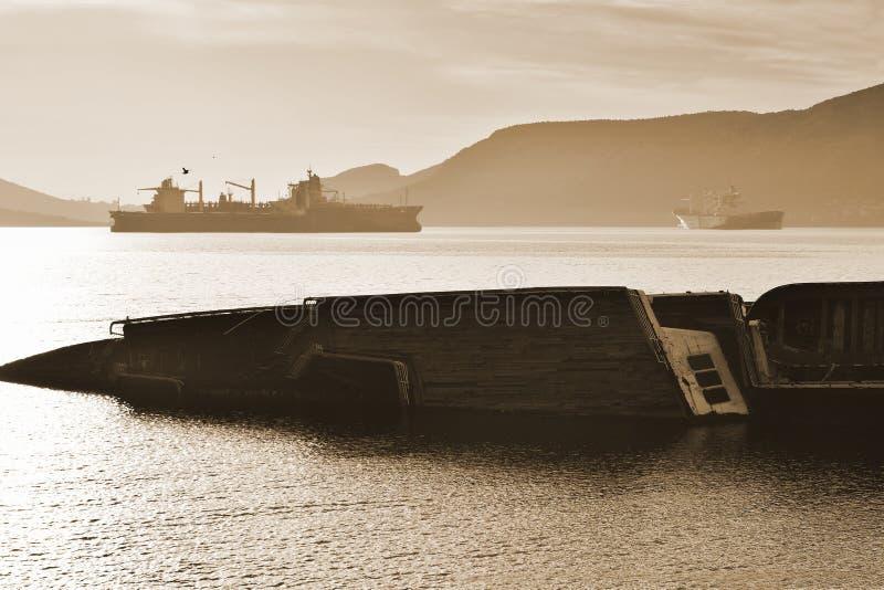 кораблекрушение стоковое фото
