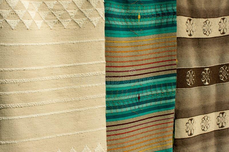 корабли Рук-сплетенные ковры стоковое фото rf