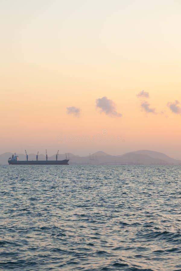 корабль груза большой стоковое изображение
