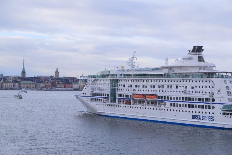 Корабль круиза fairy стоковая фотография rf