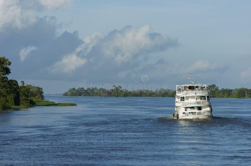 Корабль. Манаус. Бразилия стоковое изображение