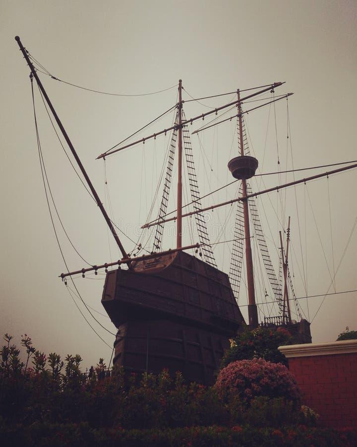 Корабль португалки стоковое изображение rf