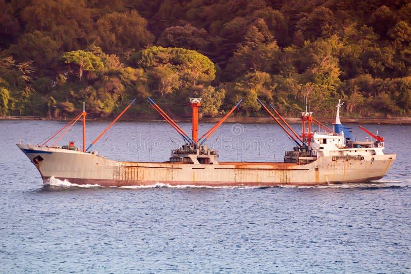 Корабль топливозаправщика стоковое изображение