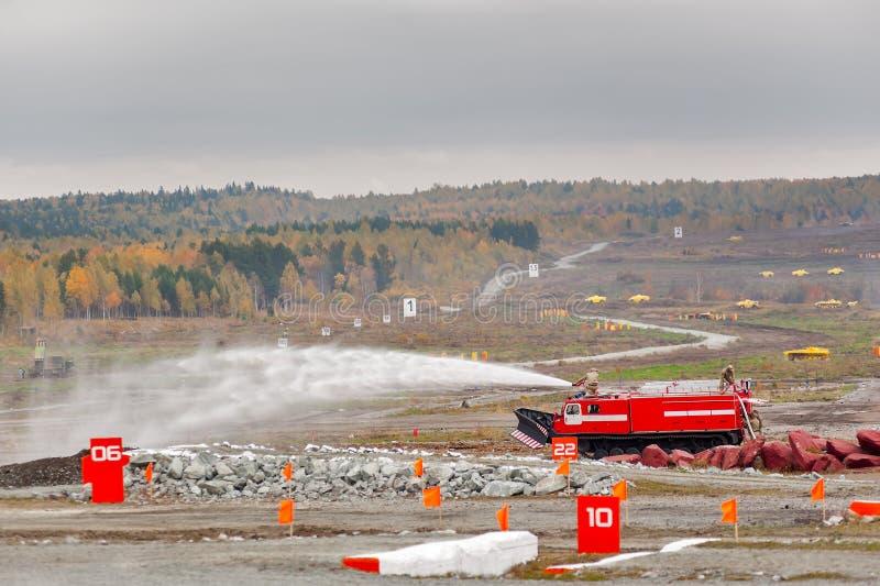 Корабль MPT-521 подавления огня прямой наводки стоковые фото