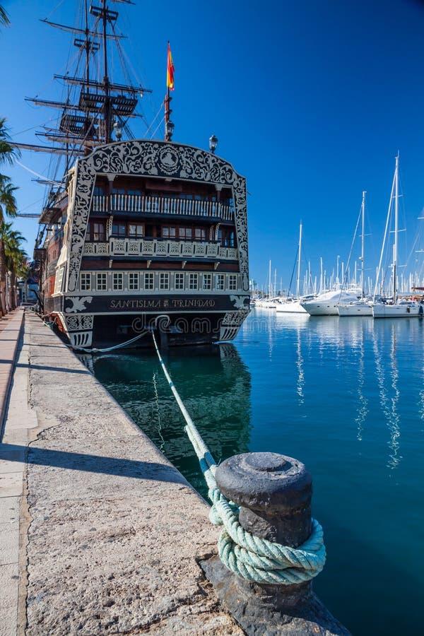 Корабль Santisima Тринидада стоковые фото
