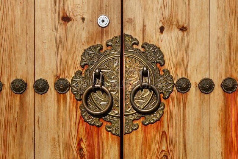 Корейская дверь стиля стоковые изображения rf
