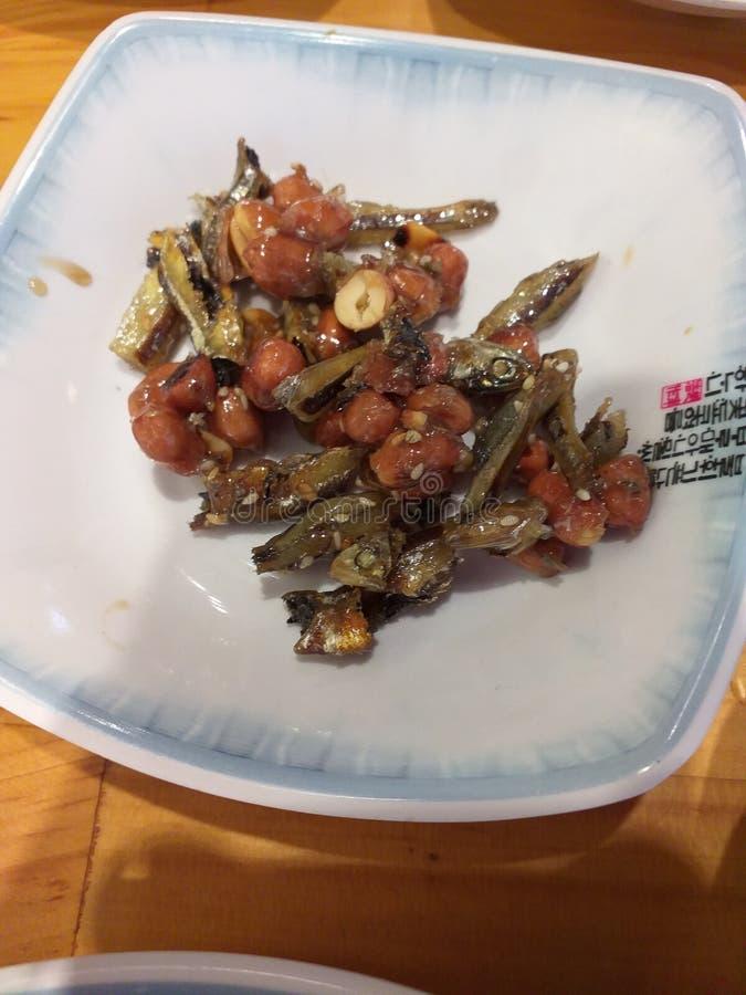 Корейская еда на обед стоковые изображения