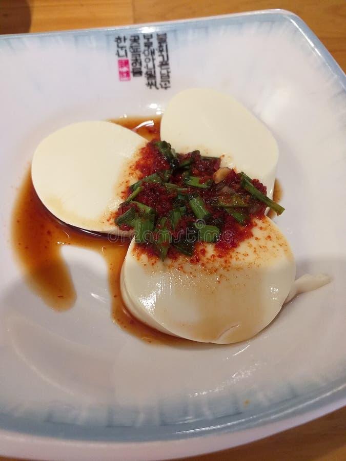 Корейская еда на обед стоковое фото rf