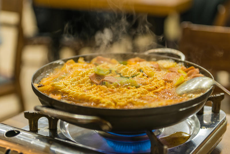 Корейская еда стоковые изображения