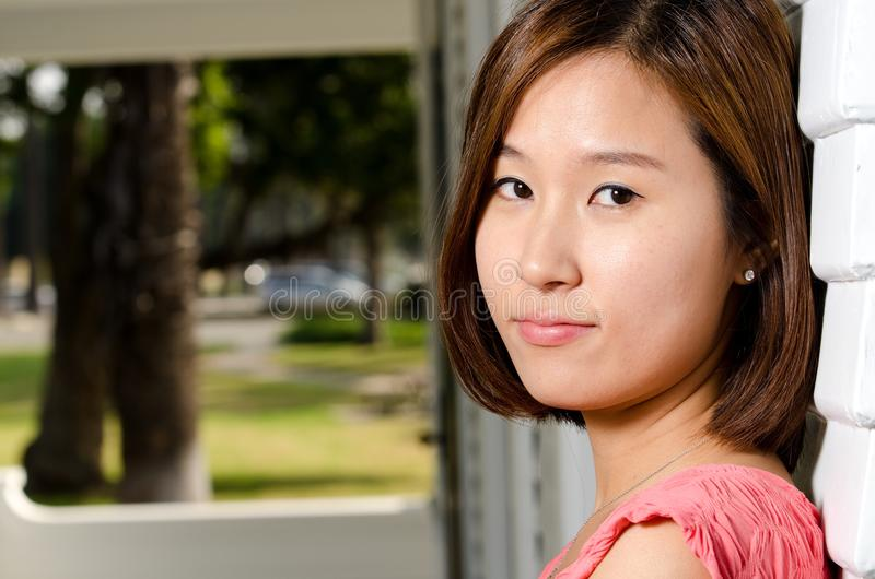 корейская женщина стоковые изображения