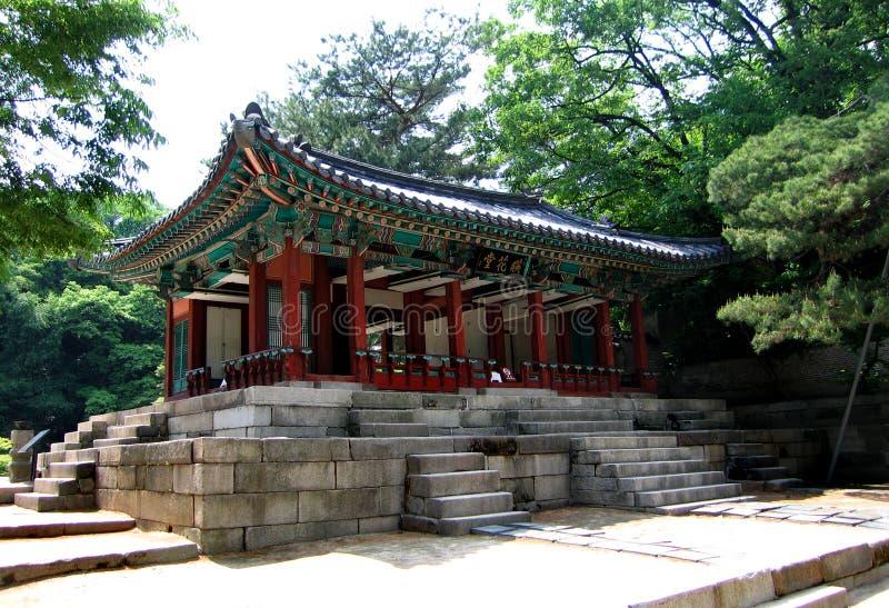 корейская королевская остановка в пути стоковые изображения