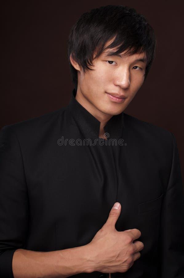 корейская модель стоковое фото