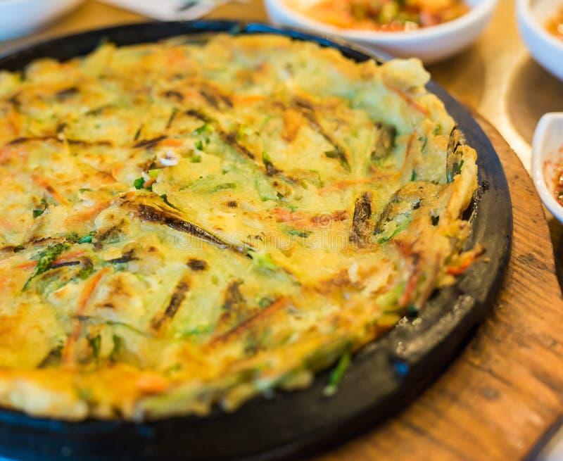 Корейская пицца стоковые изображения rf