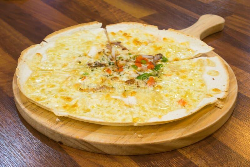 Корейская пицца стоковая фотография