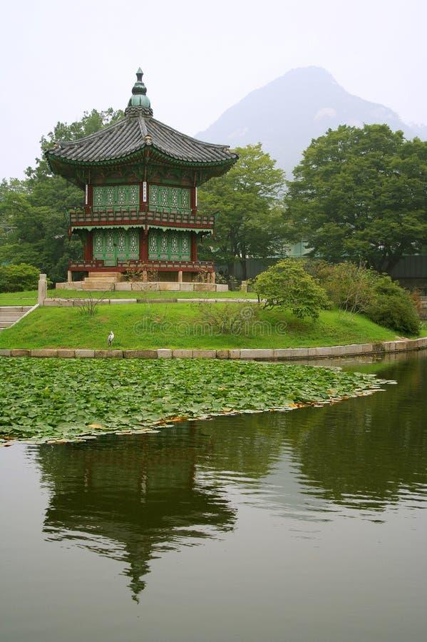 корейский дворец стоковое изображение rf
