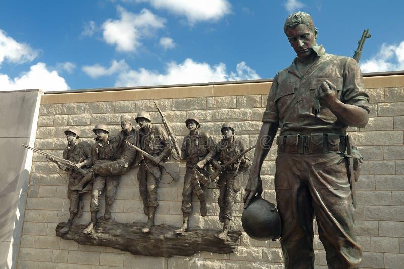 корейское мемориальное война стоковые фотографии rf