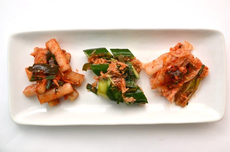 Корейское соленье вызвало Kimchi стоковые фото