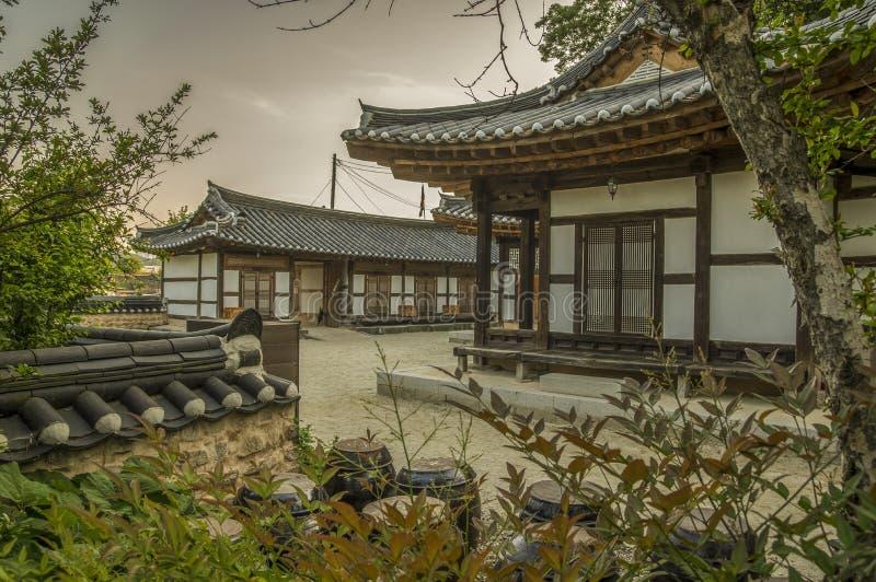 Корея традиционная стоковая фотография rf