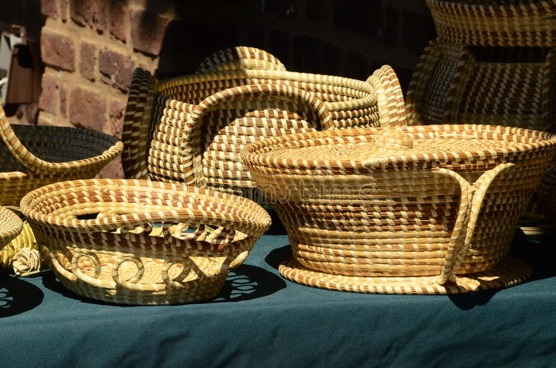 Корзины травы Swet стоковые изображения