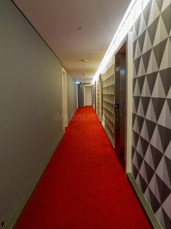 Коридор гостиницы стоковое изображение rf