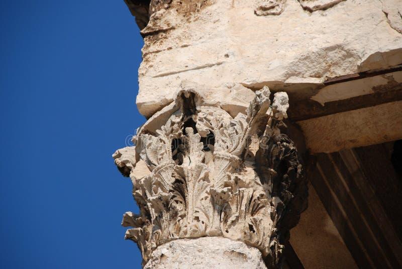 Коринфская столица стоковые изображения