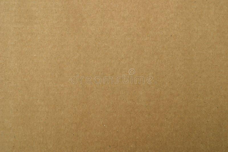 коричневая бумага коробки стоковое изображение