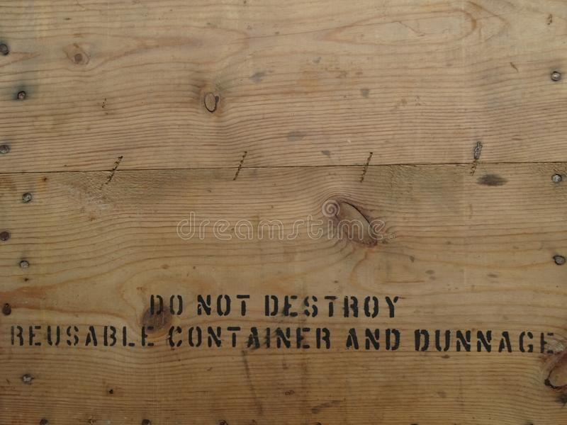 Коричневая деревянная поверхность которая часть коробки стоковая фотография rf