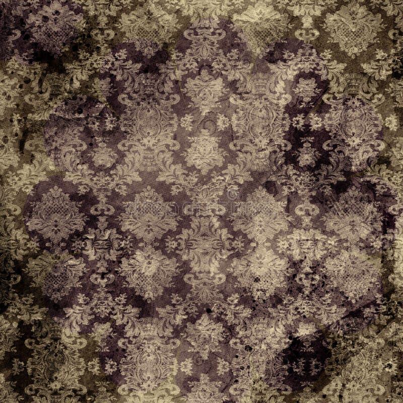 коричневая печать штофа бесплатная иллюстрация