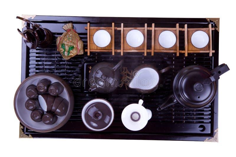 коричневая поверхностная древесина чайника стоковые изображения rf