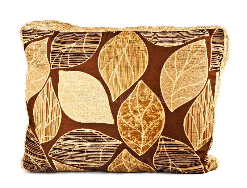 коричневая подушка стоковые изображения