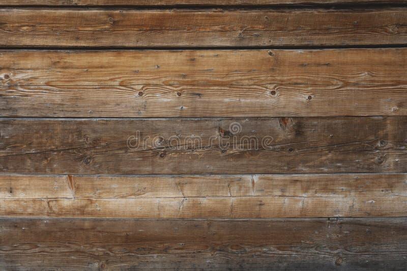 Коричневая старая деревянная предпосылка стоковые изображения rf