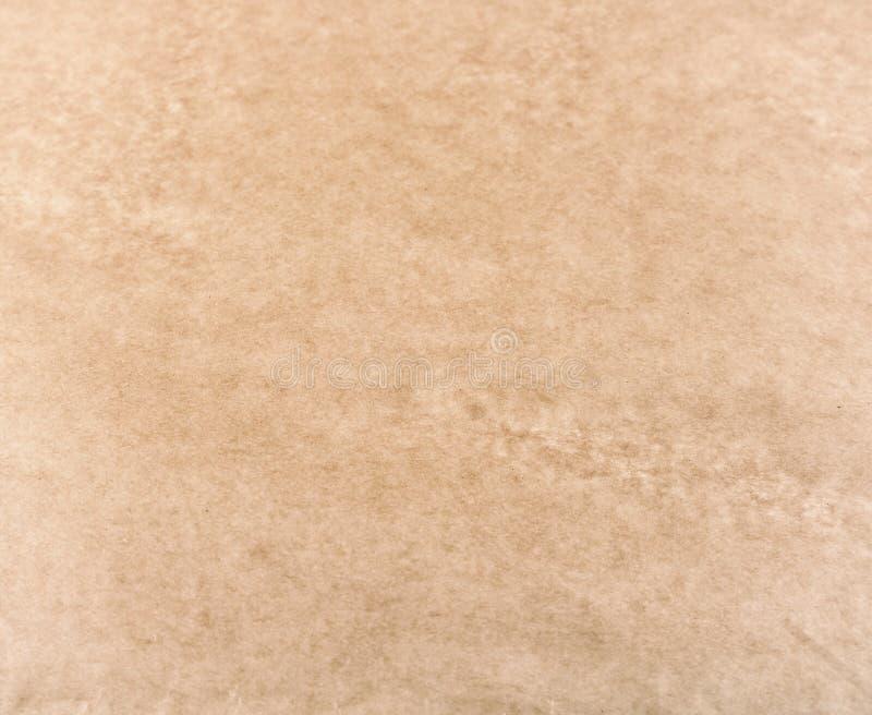 коричневая текстура пергаментной бумаги стоковые фотографии rf